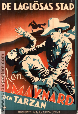 Branded Men 1931 poster Ken Maynard Phil Rosen