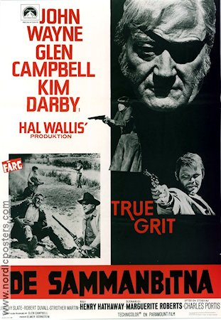 True Grit Poster 70x100cm GD-FN original