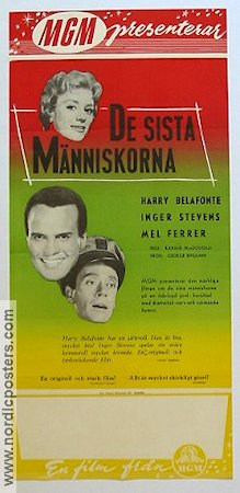 The World the Flesh and the Devil 1959 poster Harry Belafonte