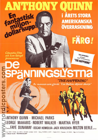 The Happening 1967 poster Anthony Quinn