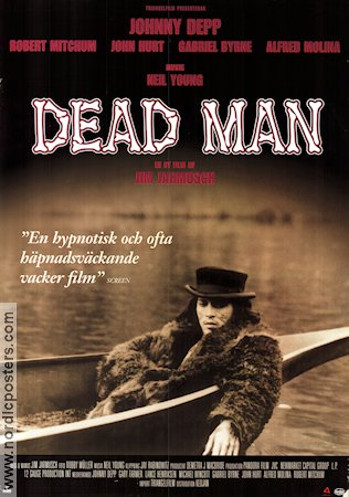 Dead Man 1995 poster Johnny Depp Jim Jarmusch