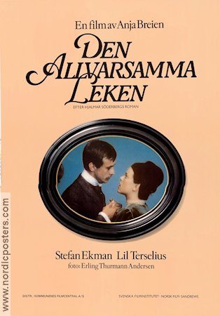 Den allvarsamma leken 1977 Movie poster