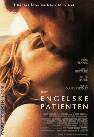 The English Patient 1997 poster Ralph Fiennes Anthony Minghella