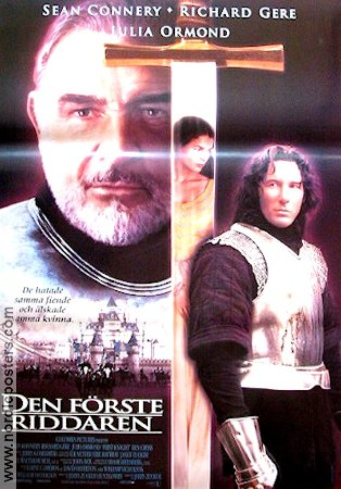 First Knight poster 1995 Sean Connery original