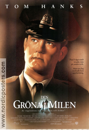 The Green Mile 1999 poster Tom Hanks