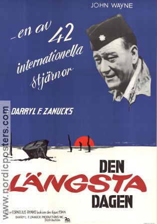 The Longest Day 1962 poster Paul Anka Ken Annakin
