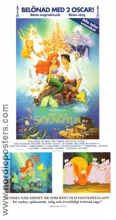 the little mermaid movie poster 1989 original nordicposters
