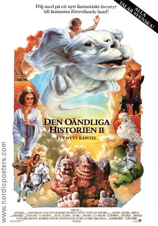 The NeverEnding Story 2 1990 Movie poster Jonathan Brandis