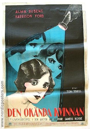 Find the Woman 1923 poster Alma Rubens