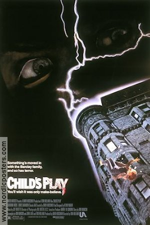 Child´s Play 1988 poster Catherine Hicks Tom Holland