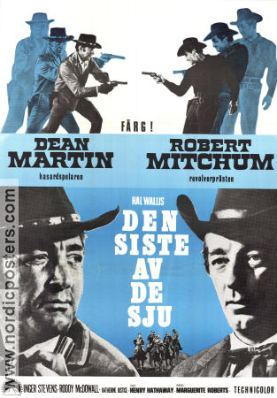 5 Card Stud 1968 poster Dean Martin Henry Hathaway