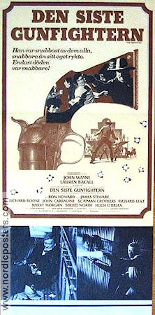 The Shootist 1976 poster John Wayne