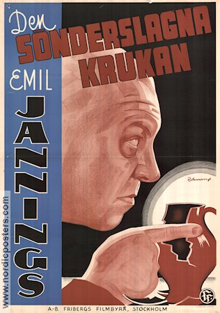 Der zerbrochene Krug  1937 Movie poster Emil Jannings