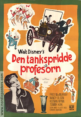 Den tankspridde professorn 1961 Fred MacMurray Nancy Olson