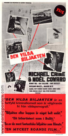 The Italian Job 1969 Movie poster Michael Caine