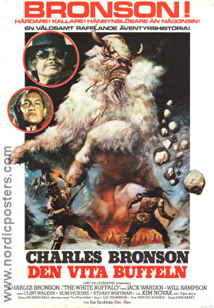 The White Buffalo 1977 poster Charles Bronson J Lee Thompson