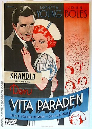 The White Parade 1935 poster Loretta Young