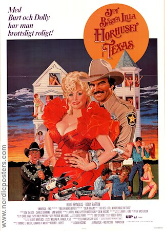 The Best Little Whorehouse in Texas 1982 Dolly Parton Burt Reynolds
