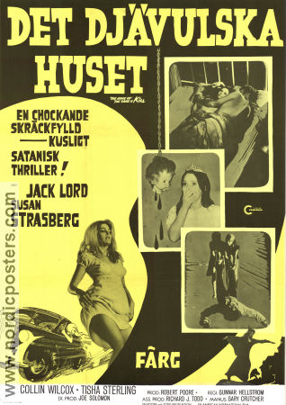 The Name of the Game Is Kill! 1968 poster Jack Lord Gunnar Hellström