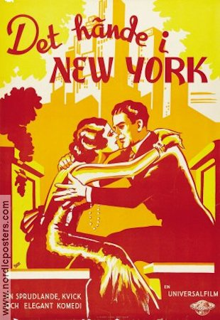 It Happened in New York 1935 poster Alan Crosland