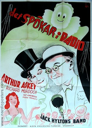Band Waggon 1939 Movie poster Arthur Askey