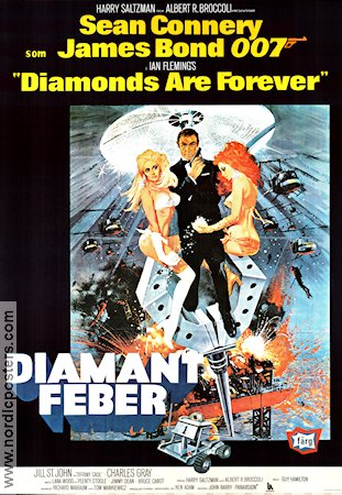 Diamonds Are Forever 1971 Sean Connery Jill St John