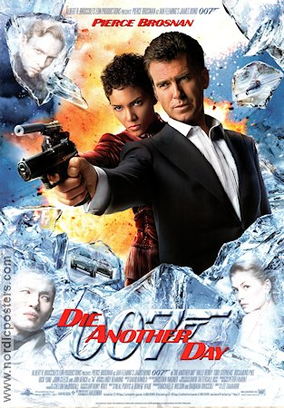 Die Another Day 2002 poster Pierce Brosnan Lee Tamahori