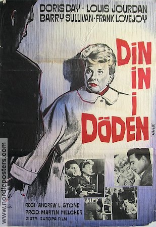 Julie 1957 poster Doris Day