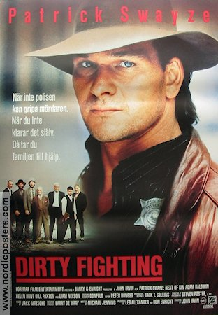 Dirty Fighting 1989 poster Patrick Swayze