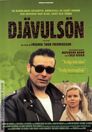 Djöflaeyjan 1997 Movie poster Fridrik Thor Fridriksson