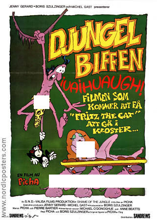 Tarzoon la honte de la jungle 1980 poster Picha