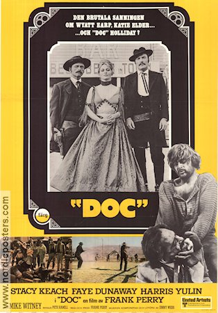 Doc 1971 poster Stacy Keach Frank Perry