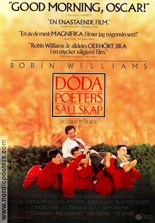 Dead Poets Society 1989 Peter Weir Robin Williams