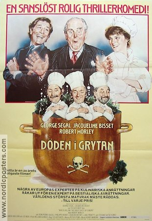 Who´s Killing the Great Chefs of Europe 1978 poster Jacqueline Bisset