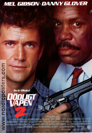 Lethal Weapon 2 1989 poster Mel Gibson