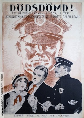 Held by the Law 1927 poster Ralph Lewis Ernst Laemmle