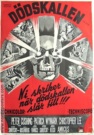 The Skull 1965 Peter Cushing Christopher Lee