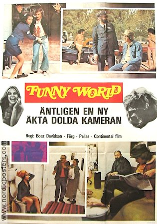 Funny World 1980 Movie poster Borz Davidson