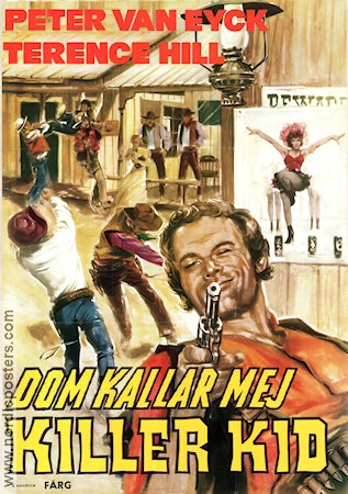 Dom kallar mej Killer Kid 1974 Movie poster Terence Hill