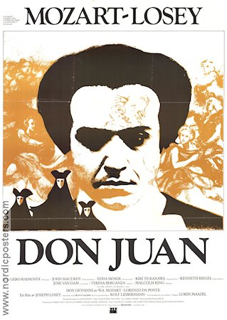 Don Giovanni 1979 Movie poster Joseph Losey