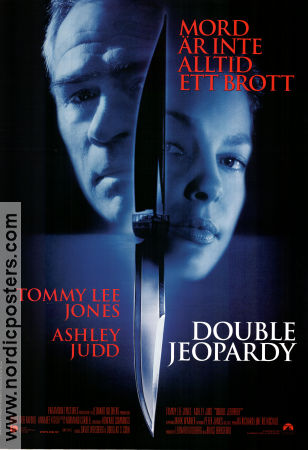 Double Jeopardy 1999 Movie poster Tommy Lee Jones