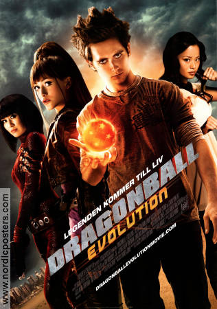 Dragonball Evolution 2009 Movie poster Justin Chatwin