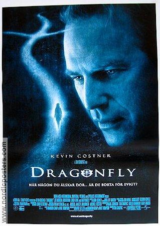 Dragonfly Poster 2001 Kevin Costner Original