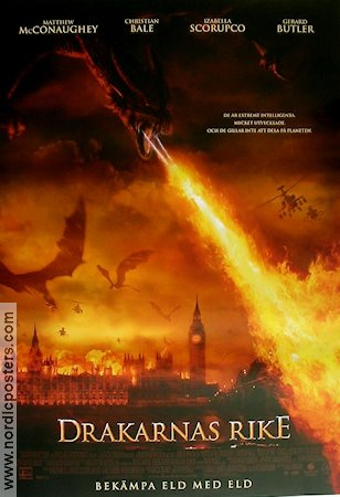 Reign of Fire 2002 Matthew McConaughey Christian Bale