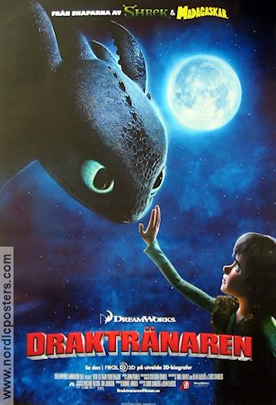 How to Train Your Dragon 2009 poster