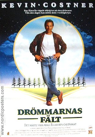 Fields of Dreams 1989 poster Kevin Costner