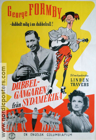 South-American George 1942 poster George Formby