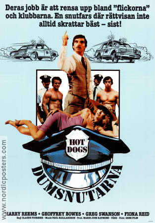 Les chiens chauds 1980 poster Harry Reems Claude Fournier
