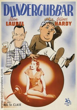 The Big Noise 1944 Laurel and Hardy Helan och Halvan