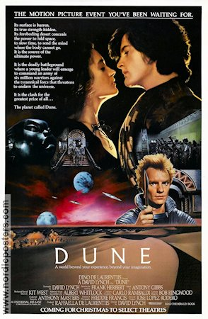 Dune 1984 Movie poster Sting David Lynch